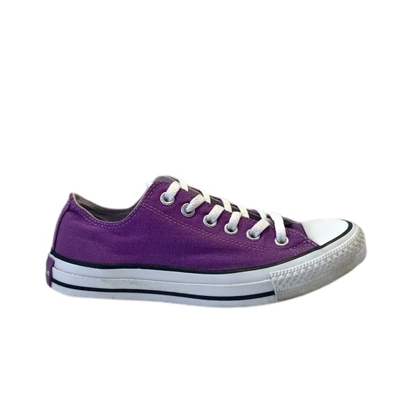 Converse CTAS Low Top Electric Purple Sneakers